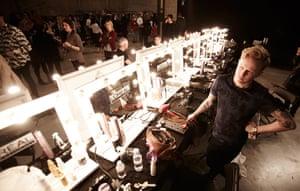 Backstage Peter Pilotto: Backstage Peter Pilotto