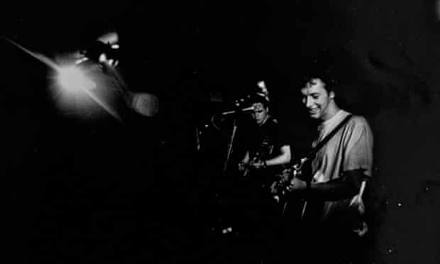 coldplay at the Bull and Gate in London in April 1999 by sarah lee