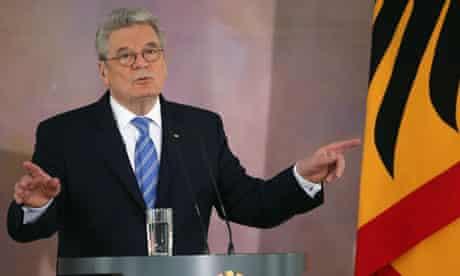 Joachim Gauck Gives Speech On Europe