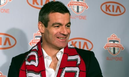 Toronto FC coach Ryan Nelsen
