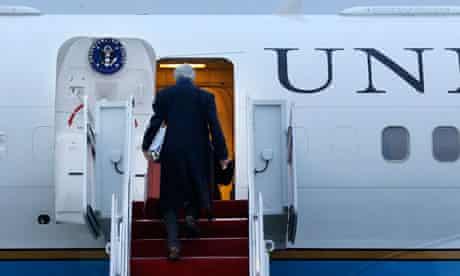 John Kerry trip