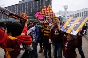 Capital One Final: Bradford City fans