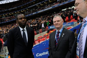 capital one final 2: Fabrice Muamba is the guest of honour at today's game