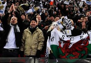 Capital One final 3: Swansea Fans celebrate