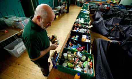 Food banks increase defra inquiry