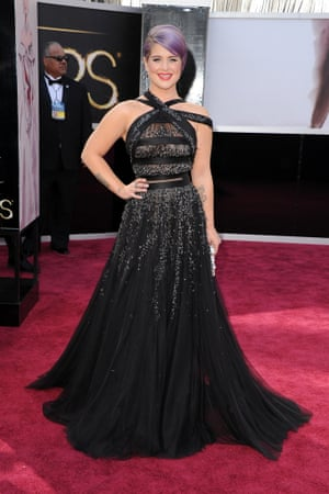 Kelly Osbourne arrives at the Oscars