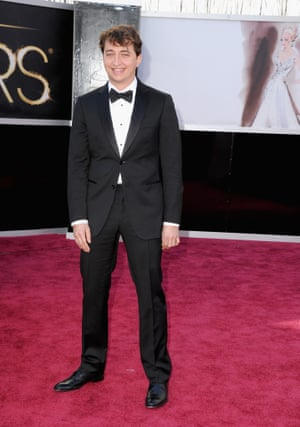 Director Benh Zeitlin arrives at the Oscars
