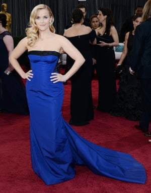 Reese Witherspoon: yeah, she's got a blue train, what of it?