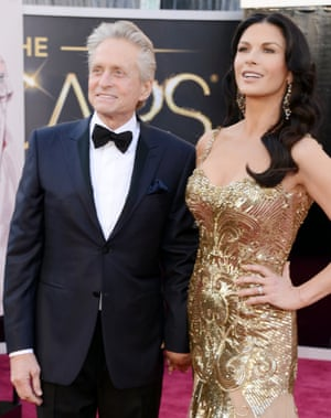 Michael Douglas and his Oscar