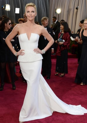 "Charlize Theron, copyrighting the phrase ""working it"""