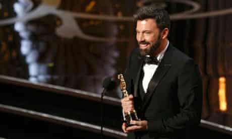 Ben Affleck with his Oscar for Argo