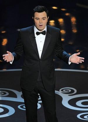 Oscar Ceremony 2013: Here's host Seth Macfarlane