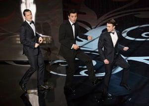 Oscar Ceremony 2013: Then Macfarlane hauled out Looper Joe and Harry Potter