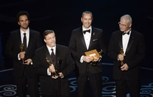 Oscar Ceremony 2013: Best Visual Effects award for Life of Pi