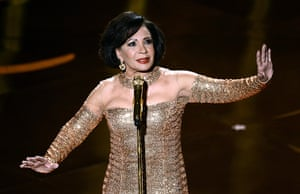Oscar Ceremony 2013: No-one was going to drown out Shirley Bassey
