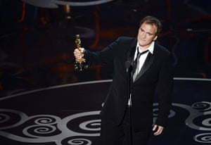 Oscar Ceremony 2013: Quentin Tarantino wins the Oscar for best original screenplay