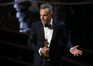 Oscar Ceremony 2013: Best actor for a third, historic time is Daniel Day-Lewis