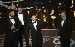 Oscar Ceremony 2013: Best picture. It's Argo