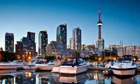 Toronto skyline CN tower