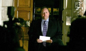 Lord Rennard faces the media during his time as Liberal Democrat chief executive