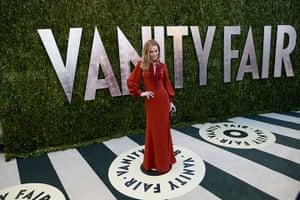 Oscars after party: Leslie Mann arrives for the 2013 Vanity