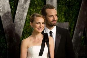 Oscars after party: Natalie Portman and Benjamin Millipied