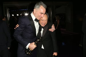 Oscars after party: Daniel Day Lewis and Ang Lee at the Governors Ball