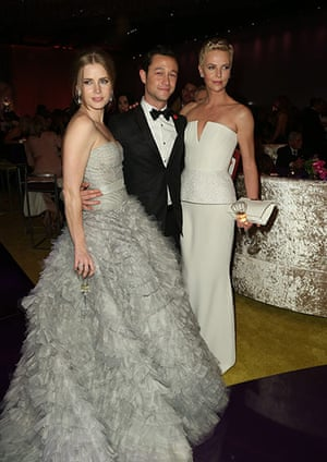 Oscars after party: Amy Adams, Joseph Gordon Levitt and Charlize Theron