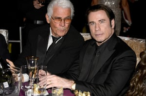 Oscars after party: James Brolin and John Travolta at the Governors Ball