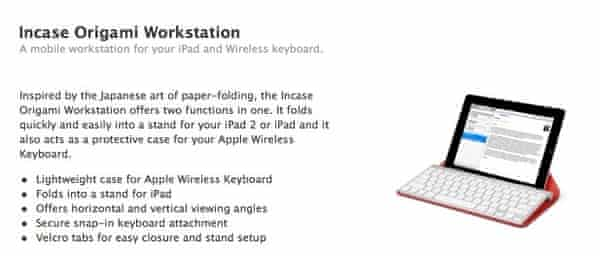 Origami Workstation - Case & Stand to Travel with the Apple ... | 256x600