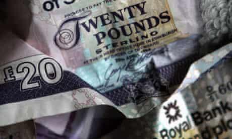 RBS twenty pound note