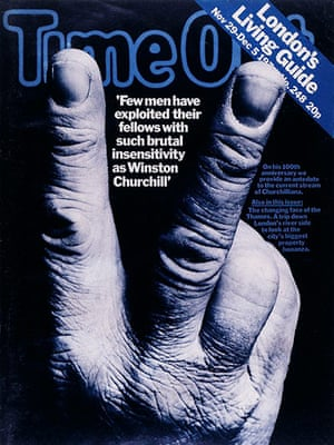 PPA covers: Time Out - November 1974, Churchill V-Sign