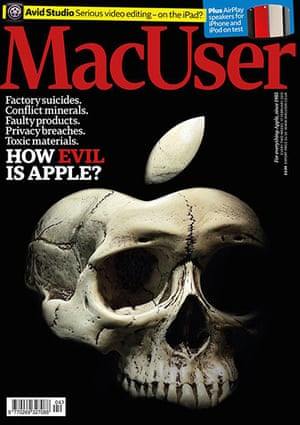 PPA covers: MacUser - February 2012, How Evil is Apple?