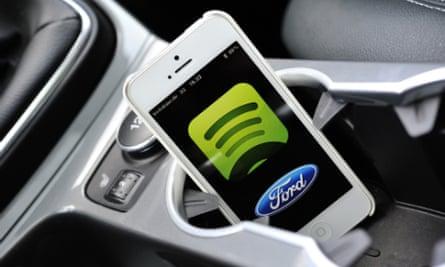 Spotify Ford app