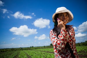 Oxfam Pink Phones project: in Cambodia