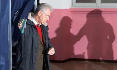 Mario Monti votes