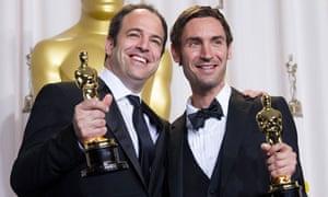 Simon Chinn with Oscar