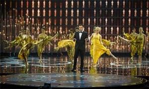 Seth MacFarlane hosts the Oscars 2013