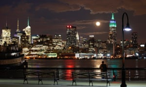 View of Empire State Building from Hoboken