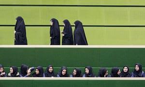 Female Iranian university students
