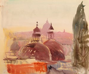 Louis Kahn: View of St Peter's, Rome