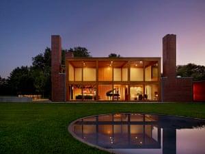 Louis Kahn: Steven and Toby Korman House, Fort Washington, Pennsylvania