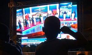 Kenya election debate