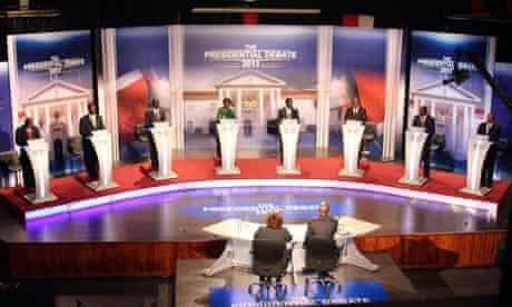Kenya presidential election debate