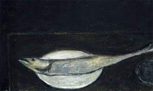 Mackerel on a Plate by William Scott