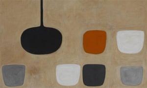 Still Life with Orange Note by William Scott