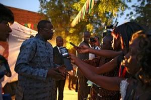 FTA: Nic Bothma: Luc-Adolphe Tiao, prime minister of Burkina Faso