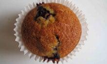 Annie Bell's blueberry muffin.