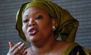 Nobel Peace Prize winner Leymah Gbowee