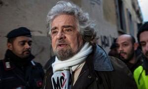 Beppe Grillo Italian elections 2013
